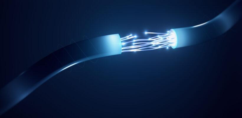 Cable Fibre Connection